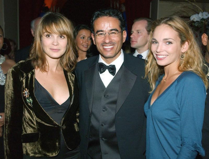 Mohamed Bin Ali Alabbar,french actress Claire Keim