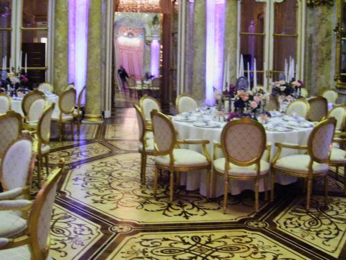 Palais Cobourg Vienne Dîner pour Eric Chauvin