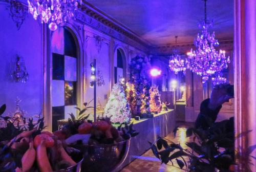 Déco Buffet avec Baptiste Fleurs