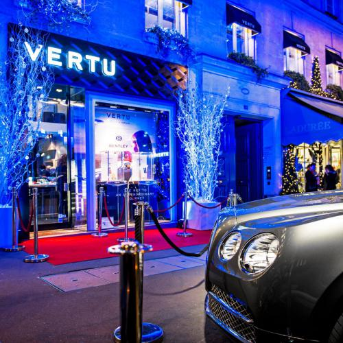 BENTLEY - VERTU Instore Event