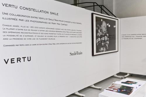 Vertu et Smile Train Exposition photos
